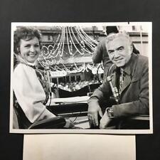 1971 Lorne Greene Bonanza Betty White Parade NBC Original TV Still Photo A86