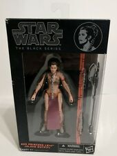 "STAR WARS BLACK SERIES SLAVE OUTFIT PRINCESS LEIA 6"" ACTION FIGURE #05 HASBRO"