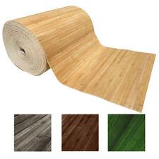 Tappeto Guida Passatoia Corsia Cucina Bambù Retro Antiscivolo Gomma Vari Colori
