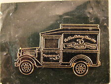 "DEPARTMENT 56 VILLAGE EXPRESS  ""ON TIME DELIVERY"" VAN Clutch back Pin pinback"