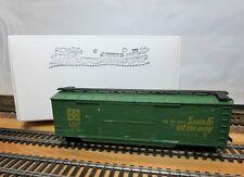 "AHM / Roco 5298 HO Scale 40' Double Door Boxcar Wood Sheathed ""Santa Fe"" w/ HH's"