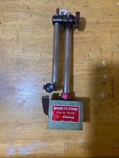 MITUTOYO Magnetic Dial Test Indicator Stand No. 7010B Adjustable Rods
