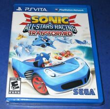 Sonic & All-Star Racing Transformed Sony PS Vita *New! *Sealed! *Free Shipping!