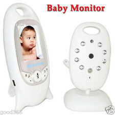 2.4GHz Wireless Digital LCD Color Baby Monitor Audio Video Night Vision Camera