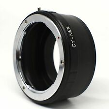 Anillo Adaptador Objetivo CONTAX en Cámaras Sony Nex E-Mount compatible