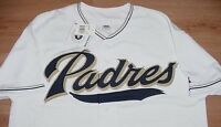San Diego Padres Jersey 5XL Majestic Athletics MLB Embroidered Logo
