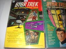 STAR TREK 1 & 2 golden press 1976 rarita' U.S.A. !!