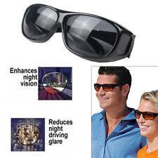 HD Vision Driving Sunglasses Wrap Around Glasses Anti Glare UV Unisex As On TV