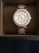 Michael Kors MK6110 Womens Watch Rose Gold Mini Parker UK SELLER