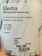 smith optics electra ski goggles  black