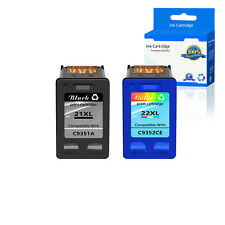 Compatible with HP 21XL 22XL Ink C9351AN C9352AN For Deskjet 3910 3915 3918 3920