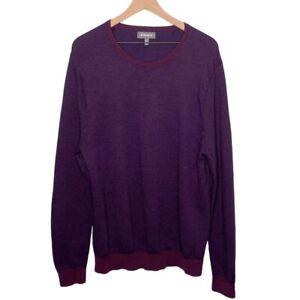 Bonobos Merino Wool Crewneck Sweater Slim Fit Size XL