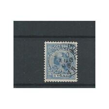 "Nederland 35 met "" LEIMUIDEN 1895""  VFU/gebr  CV 45 €"