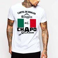 El Chapo Guzman T-Shirt Sinaloa Cartel Gangster Sicario Mexican Hitman Narco Tee