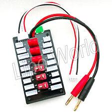 6x DEANS 2S 3S 4S XH parallel Lade Balancer Board Adapter Lipo Akku imax Modell