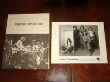 Ultra Rare FAIRPORT CONVENTION 1970 A&M RECORDS PRESS KIT - Richard Thompson