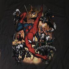 NEW Marvel Comics SMALL Shirt: Spiderman & Villains/Venom,Carnage,Goblin,Rhino!