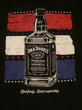 NEW Rare Jack Daniels Old No.7 Lives Here NYC USA America T-shirt Women's Small