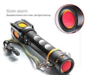Ultra Bright CREE XM-L T6 LED Flashlight Torch