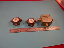 Mini Circuits Splitter Lot Zfrsc-42 + Trak Microwave Rf Frequency As Is #19-A-28