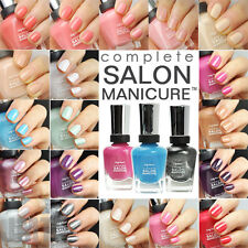 Sally Hansen Complete Salon Manicure 14.7ml New Many More Nail Polishes In Shop