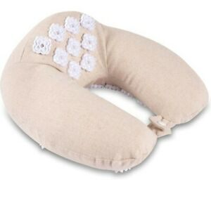 Kanjo Memory Foam Acupressure Neck Pillow - High Density Memory Foam Core -...