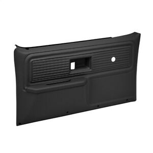 Coverlay Black Door Panels 18-34N-BLK For 77-80 Chevy GMC Trucks No Pwr