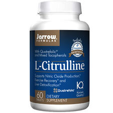 Jarrow Formulas L-Citrulline 60 tablets 1,000mg Gamma Tocopherol