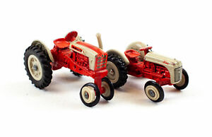 Lot of 2 ERTL 1:64 Micro Die-Cast Tractors - Models 2311 & 2031G