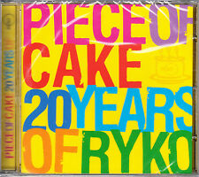 Various 'PIECE OF CAKE 20 YEARS OF RYKO' CD New/Sealed - UK MOJO