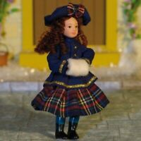 1/12 Scale Dolls House Emporium Porcelain Daniella Doll 7435