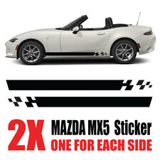 Mazda MX5 Graphics Eunos Roadster mk1 mk2  stripes Decals Stickers mz3
