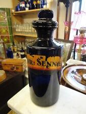 Victorian Bristol Blue Chemist Bottle