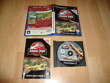 JURASSIC PARK OPERATION GENESIS DE BLUE TONGUE PÀRA LA SONY PS2 USADO COMPLETO