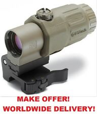 -- NEW -- EOTech L3 G33 G33.STS Switch to Side 3X Magnifier with QD Mount TAN
