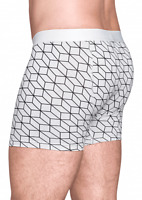 Happy Socks Men's Stretch Underwear Optic Boxer Brief Dots XL