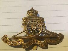 More details for rare otc badges 1930s oxford uotc artillery battery
