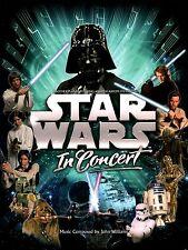 STAR WARS 2009 IN CONCERT TOUR PROGRAM BOOK / NEAR MINT 2 MINT