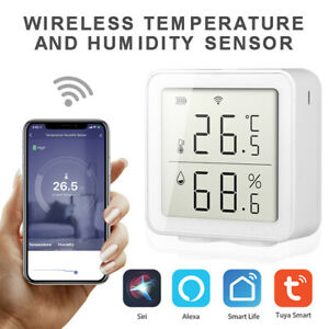 Smart WiFi Humidity Thermostat Digital Temperature Controller Remote Control ss