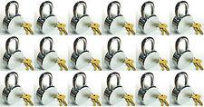 Lock Set by Master 6230KA (Lot of 18) KEYED ALIKE Solid Steel Extreme Security