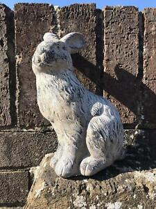Latex Only Mould To Make Garden Rabbit Ornament for Plaster or Concrete Mold