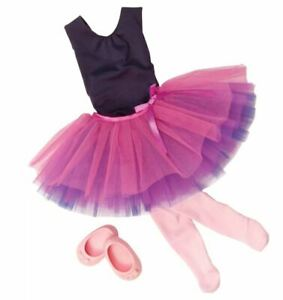 """Our Generation Ballet Outfit for 18"""" Dolls - Dance Tulle You Drop Ballerina"""