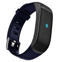 Smart Bracelet + Bluetooth Earphone Heart Rate Monitor Fitness Tracker Wristband