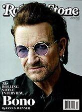 NEW Rolling Stone Magazine Bono U-2 2018 USA Newsstand Edition No Label