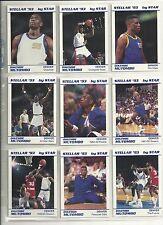 Dikembe Mutombo 1992-93 1993 Star Company Stellar Nuggets 9-card NBA Set /500