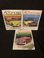 Collectible Automobile Magazine  lot 2003 Feb April Aug Jeepster Kaiser Lincoln