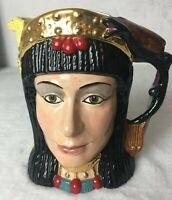 Royal Doulton Large Cleopatra Antony Double Face Character Toby Jug Mug D.6728