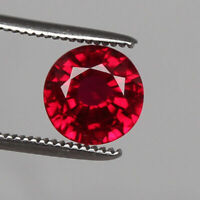 Natural Mozambique Top Red Ruby 6.80 Ct. Perfect Round Cut Loose Gemstone