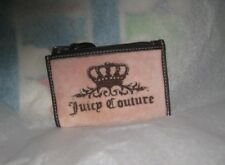 "Juicy Couture Keychain - Card Holder Pink Color Faux Fur NWT  4"" X 3"""