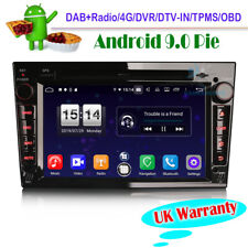"7"" Android 9.0 Head Unit DVD CD DAB Radio GPS Sat Nav For Vauxhall Tigra TwinTop"